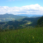 Pogled iz Kala na Sv.Planino